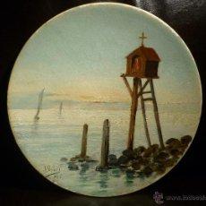 Arte: RARISIMA MARINA DE ISIDRE NONELL DE 1894 . Lote 47796222