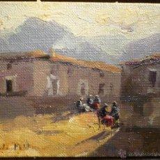 Arte: PAISAJE DE ANDORRA FIRMADO J. MIR (1873-1940). Lote 47801839