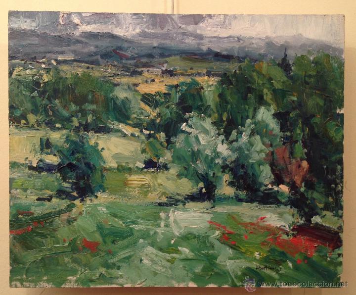 CUADRO ÓLEO ORIGINAL DEL PINTOR CATALÁN ALBERT ALÍS (Arte - Pintura - Pintura al Óleo Contemporánea )