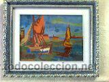 Arte: Antigua pintura óleo sobre tela 51 x 42 cmtrs. - Foto 2 - 47859578