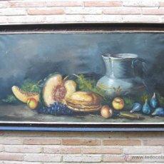 Arte: CUADRO PINTADO AL OLEO - BODEGON - FIRMADO.. Lote 47883944