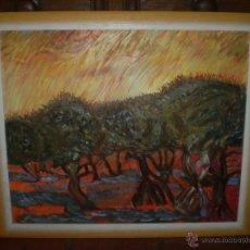 Arte - PAISAJE CON OLIVOS OLEO SOBRE LIENZO FIRMADO PEPI 09 - 48100983