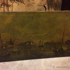 Arte: INTERESANTE VISTA DE VENECIA GRAN FORMATO, OLEOGRAFIA. Lote 54181667