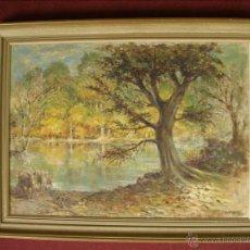 Arte: B.H WILES (GRAN BRETAÑA, SIGLO XIX). VALORADO APROX. 1000 €. Lote 27231860