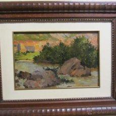 Arte: BONITO CUADRO DE CECILIO PLÁ - (VALENCIA 1860 - MADRID 1934). Lote 48327209