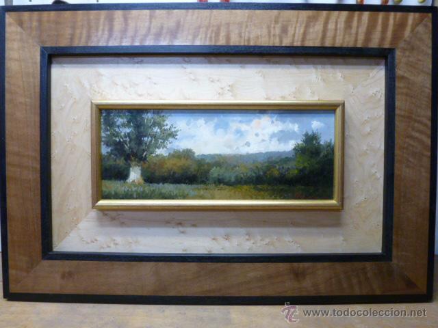 paisaje,oleo sobre tabla , medidas 60 x 40 cm.m - Comprar Pintura al ...