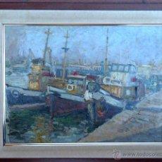 Kunst - óleo sobre táblex.Edmond - 68126478