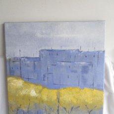 cuado con pintura al oleo firmado zona el vendrell 78 cm x 67 cm