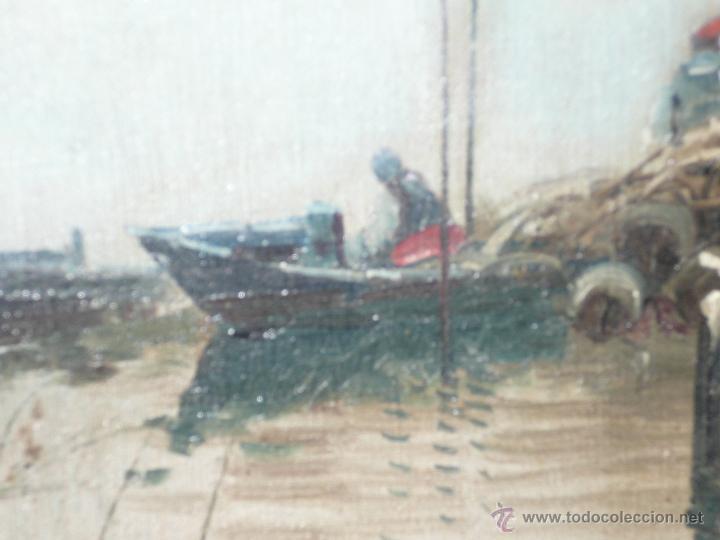 Arte: Oleo sobre tela firmado Marqués - Foto 11 - 12155798