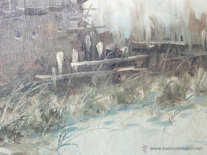 Arte: Oleo sobre tela firmado Marqués - Foto 12 - 12155798