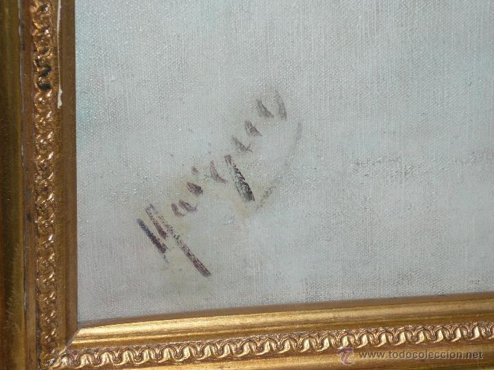 Arte: Oleo sobre tela firmado Marqués - Foto 14 - 12155798