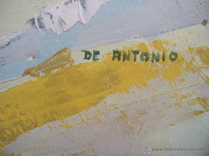 Arte: GRAN CUADRO ÓLEO / LIENZO FIRMADO DE ANTONIO - Foto 6 - 48443589