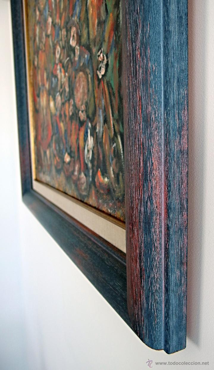 Arte: Constantino Portas Leirado: óleo sobre lienzo 'La fiesta del pavo' - Foto 6 - 46537352