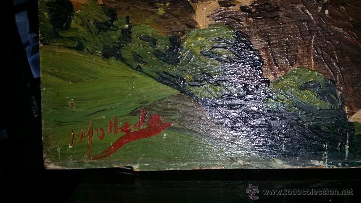 Arte: PAISAJE oleo sobre tablA,FIRMADO - Foto 5 - 48657932