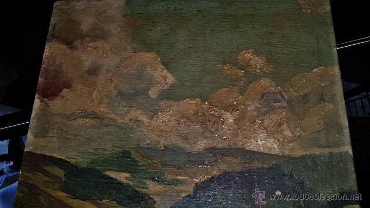 Arte: PAISAJE oleo sobre tablA,FIRMADO - Foto 6 - 48657932