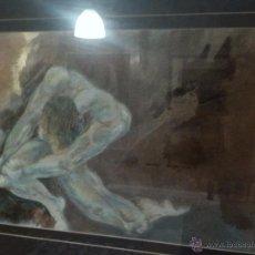 Arte: CHRISTIAN DE LEENER OBRA TECNICA MIXTA. Lote 48714954