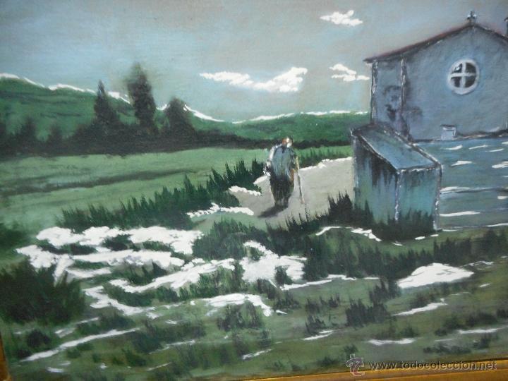 Arte: antiguo cuadro oleo sobre tela - Foto 3 - 48722634