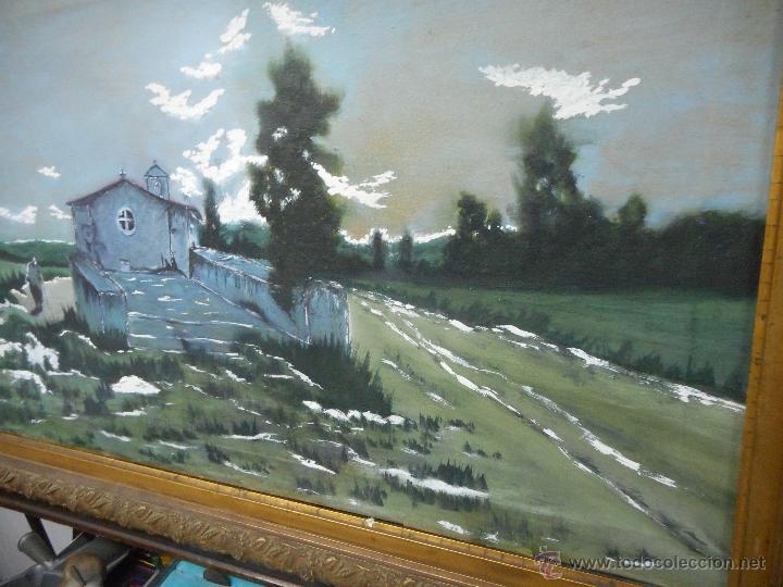 Arte: antiguo cuadro oleo sobre tela - Foto 4 - 48722634