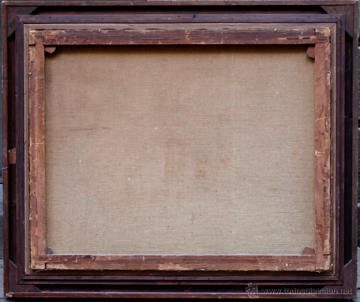 Arte: Mas i fondevila (1852-1934) La presentación de Jesús, óleo sobre tela, marco: 116x98 cm. - Foto 2 - 48731844