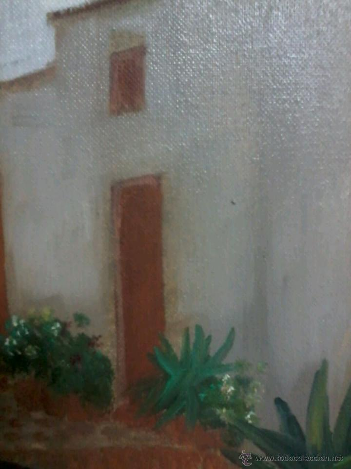 Arte: ABUELA EN MECEDORA. JUAN GRANDE. - Foto 7 - 48746582