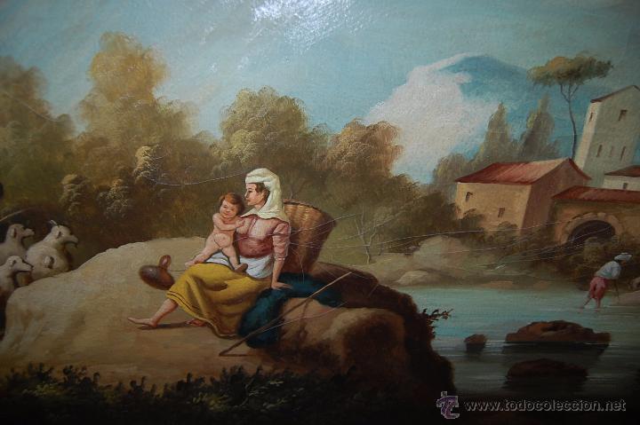 CUADRO AL ÓLEO DE 154 CM LARGO POR 111 CM DE ANCHO FIRMADO (Arte - Pintura - Pintura al Óleo Moderna siglo XIX)