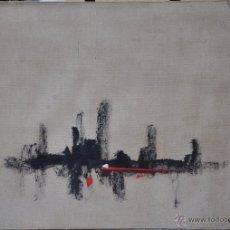 Arte: JOSÉ VILLANUEVA BERRUEZO ,OLEO SOBRE LIENZO , ABSTRACCION OBRA ORIGINAL. Lote 48870336