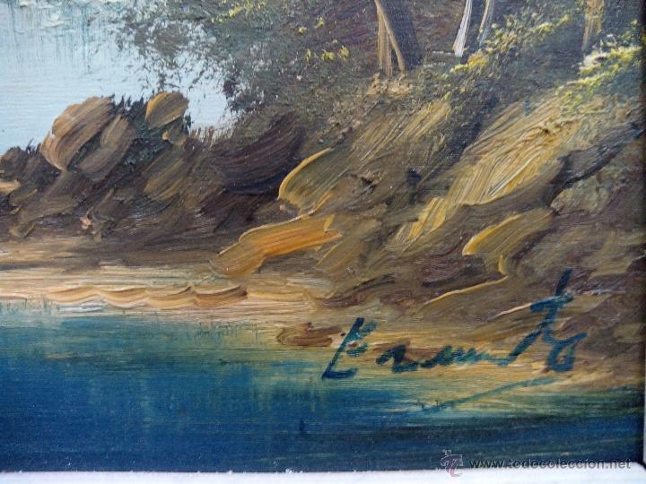 Arte: paisaje pintura soble tabla - Foto 3 - 48907456
