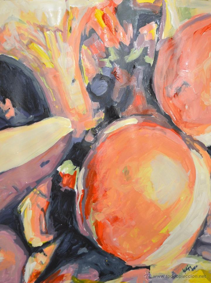 PINTURA AL ÓLEO S / CARTULINA( AXEL RODRÍGUEZ) 50 X 65 CM (Arte - Pintura Directa del Autor)