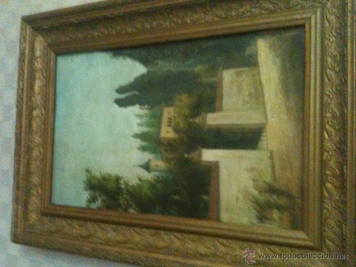 ES UNA BONITA PINTURA ANTIGUA (Arte - Pintura - Pintura al Óleo Antigua sin fecha definida)
