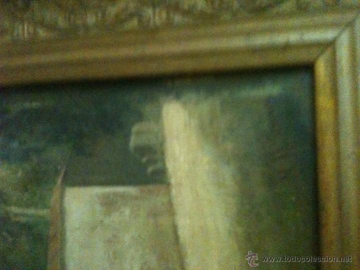 Arte: es una bonita pintura antigua - Foto 2 - 48936051