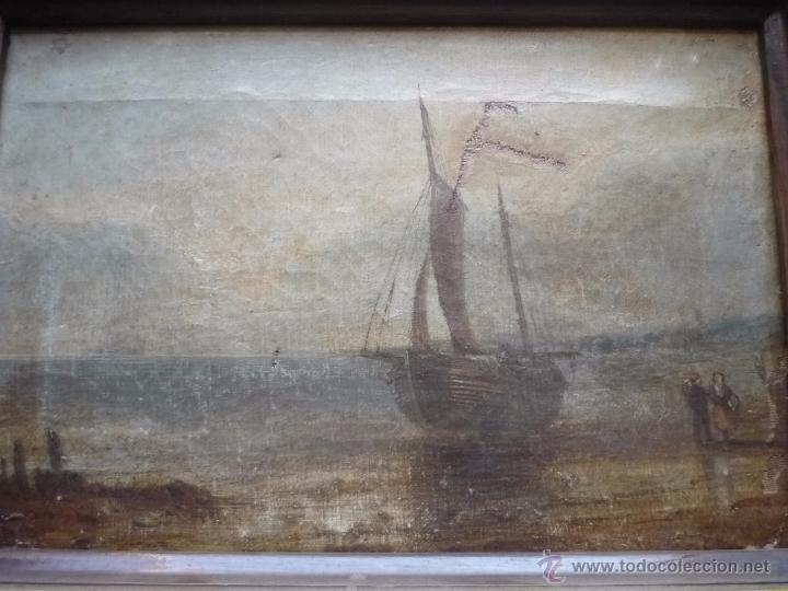 Arte: Pareja de marinas S XIX - Foto 17 - 49033663