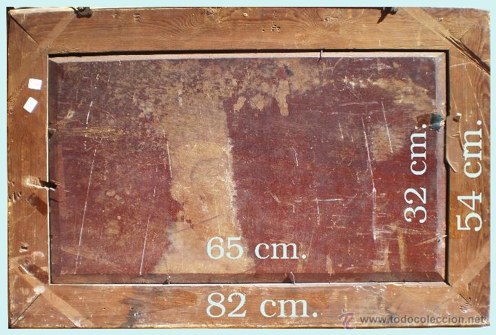 Arte: Reverso del cuadro y medidas. - Foto 7 - 49710284