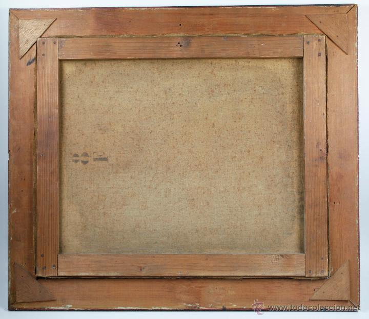 Arte: P.Horsin, 1896. Óleo sobre lienzo, 46x38 cm. Marco: 49x57 cm. - Foto 4 - 49108230