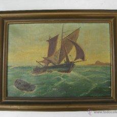 Arte: OBRA CUADRO PINTURA PAISAJE JOSE HONORATO GARRIGOS SENCHERMES 1957 VALENCIA. Lote 49138448