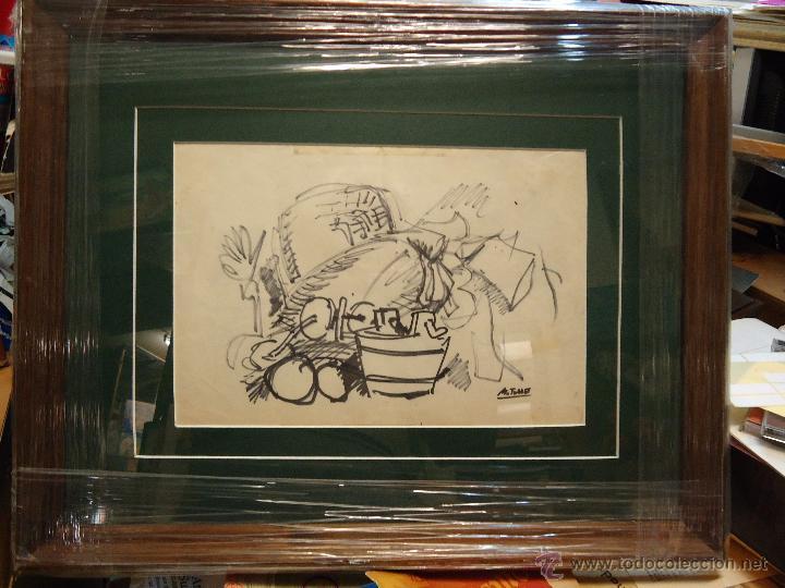manuel torres (marín pontevedra 1901 dibujo enm - Comprar Pintura al ...
