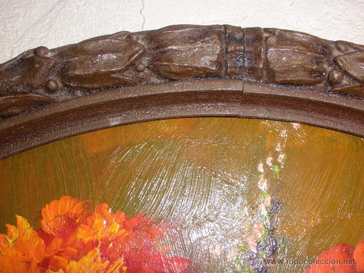 Arte: Bodegón de flores al óleo CON FIRMA - Foto 7 - 49151795