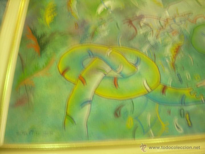 Arte: Cuadro de Víctor Mira. titulado Turbado Aragonés. Con Foto-Poster de Víctor Mira de regalo. - Foto 2 - 49445783