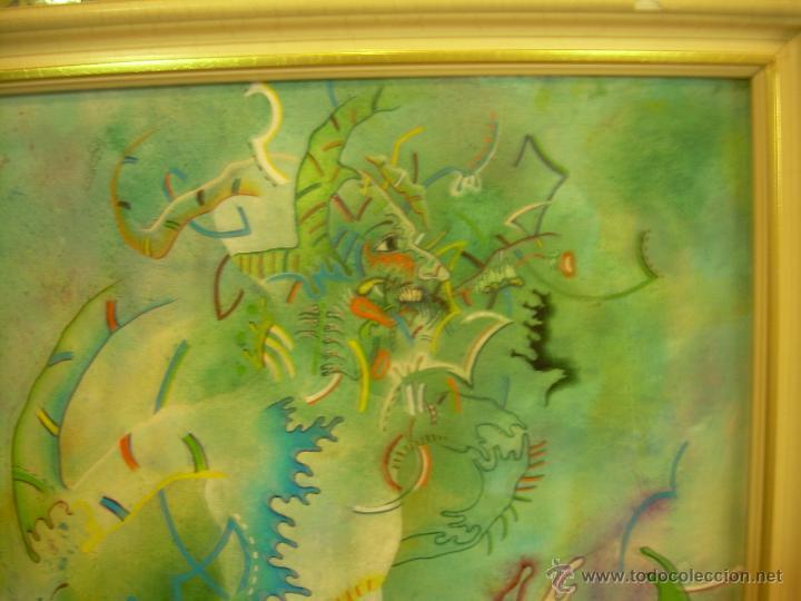 Arte: Cuadro de Víctor Mira. titulado Turbado Aragonés. Con Foto-Poster de Víctor Mira de regalo. - Foto 3 - 49445783
