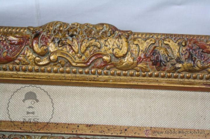 Arte: Pintura al Óleo Sobre Lienzo de Carbonell i Massabé. Molí del Solé, Rupit - Medidas 93 x 80 Cm - Foto 8 - 49495997