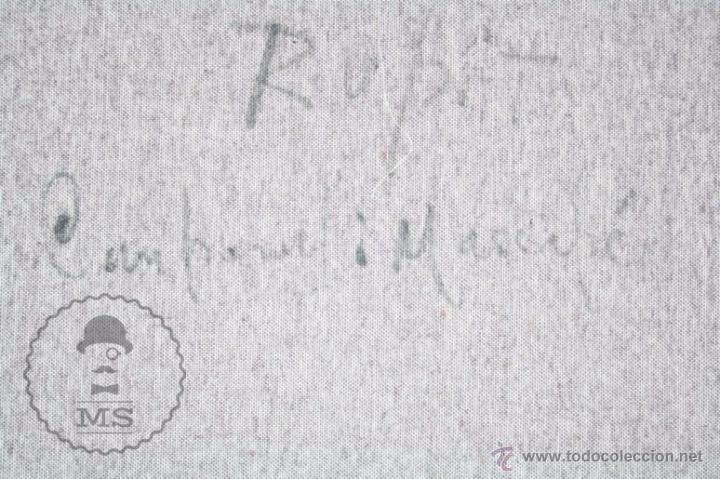 Arte: Pintura al Óleo Sobre Lienzo de Carbonell i Massabé. Molí del Solé, Rupit - Medidas 93 x 80 Cm - Foto 13 - 49495997