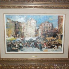 Arte: MUY BONITA PINTURA AL ÓLEO DE LUIS GINER BUENO. Lote 49563126