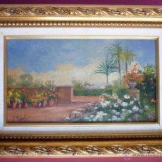 Arte: ÓLEO ORIGINAL SOBRE TABLA. P. GIBERT. ENMARCADO. Lote 49653057