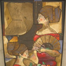 Arte: MIQUEL TORNER DE SEMIR - GANXONÉS - ÓLEO SOBRE LIENZO - 100 X 66 CMS.. Lote 49690164