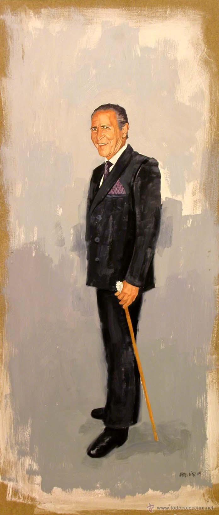 PINTURA FIGURATIVA RETRATO ANTONIO GALA (Arte - Pintura - Pintura al Óleo Contemporánea )