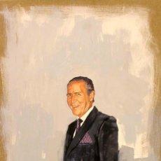 Arte: PINTURA FIGURATIVA RETRATO ANTONIO GALA. Lote 49725162