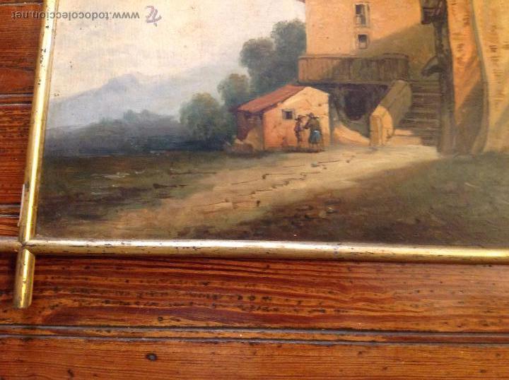 Arte: oleo sobre tablero casas - Foto 4 - 49773238