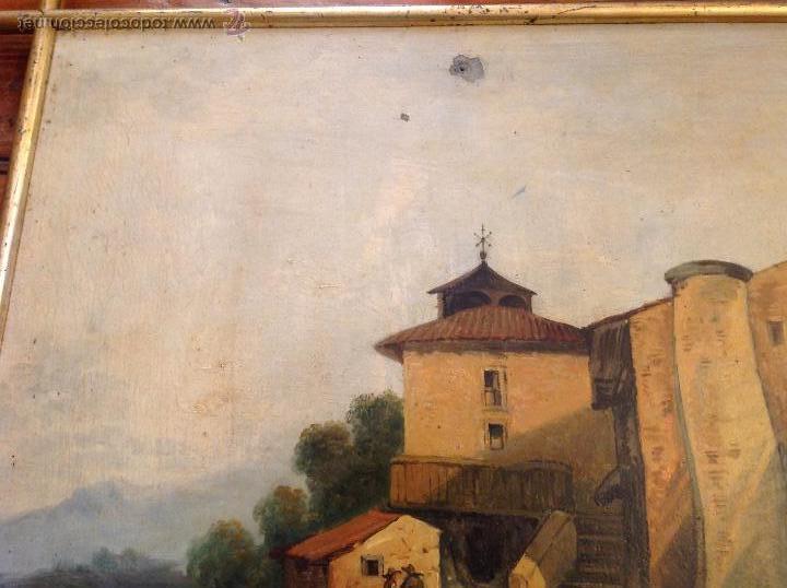 Arte: oleo sobre tablero casas - Foto 5 - 49773238