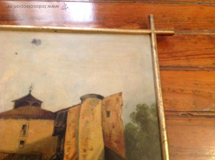 Arte: oleo sobre tablero casas - Foto 7 - 49773238