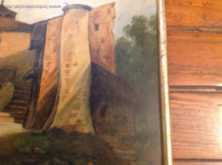 Arte: oleo sobre tablero casas - Foto 8 - 49773238