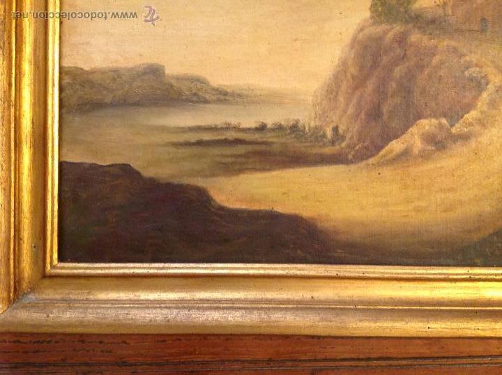 Arte: oleo sobre lienzo casa con camino - Foto 5 - 49773311